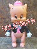 ct-130205-25 Porky Pig / R.DAKIN 70's Soft vinyl figure