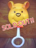 ct-101027-02 Winnie the Pooh / 70's Baby Rattle