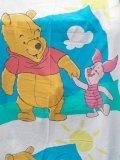 ct-120117-04 Winnie the Pooh / 90's Flat sheet