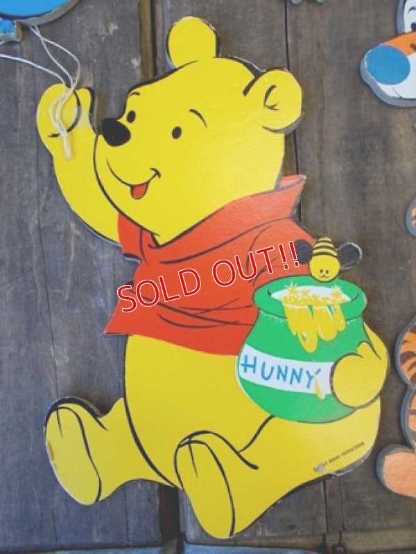 画像2: ct-121023-03 Winnie the Pooh / Dolly Toy 70's Wall Pin-up