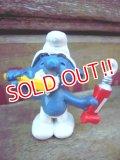 "ct-120131-51 Smurf / 70's PVC ""Toothbrush"" #20064"