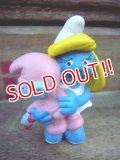 "ct-120203-17 Smurf / PVC ""Smurfette & Baby Smurf"" #20192"