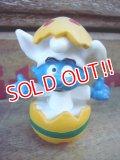 """ct-120203-12 Smurf / PVC """"Easter Egg"""" #20492"""