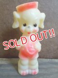 bt-121002-02 Sun Rubber / 50's Puppy Dog squeaky doll