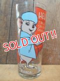 gs-120801-07 The Rescuers / Bianca PEPSI 1977 Collectors series glass