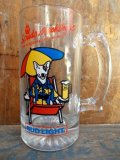 gs-130312-01 BUD LIGHT / Spuds Mackenzie 80's Beer Mug