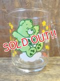 "gs-130205-04 Care Bears / 1986 Mini Glass ""Good Luck Bear"""