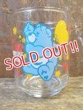 "gs-130205-05 Care Bears / 1986 Mini Glass ""Bedtime Bear"""