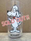 gs-120904-06 Mr,Peabody / PEPSI 70's Collector series glass