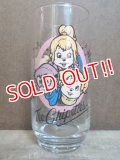 gs-130511-06 Alvin & the Chipmunks / The Chipettes 80's glass