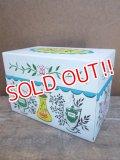 kt-130511-01 Vintage Recipes Card Box