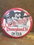pb-100626-01 Disneyland '86 On Tour Pinback