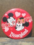 pb-100626-07 Disneyland / 70's Mickey Mouse & Minnie Mouse Pinback