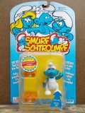 "ct-130702-22 Smurf / 90's Action figure ""Handy Smurf"""