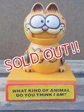 ct-130319-43 Garfield / 80's Spring Toy (C)