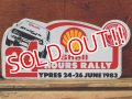 ad-821-17 Shell / 24 Hours Rally 80's Sticker