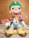 ct-130903-10 Jiminy Cricket / Ledraplastic 60's Rubber doll
