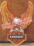 ad-821-33 KAWASAKI /Motor Cycles Sticker