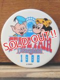 pb-909-07 Disneyland / 1988 State Fair Pinback
