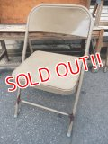 dp-110803-04 Vintage Metal Folding Chair