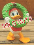 "ct-130924-38 Donald Duck / Applause PVC ""Wreath"""