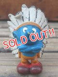"ct-924-27 Smurf /  PVC ""Indian Chief"" #20144"
