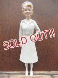 ct-131001-19 Kendall Curity Company / 50's Miss Curity Store Display Figure
