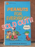"bk-1001-26 PEANUTS / 1964 Comic ""PEANUTS FOR EVERYBODY"""