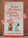 """bk-1001-16 PEANUTS / 1968 Comic """"You're My Hero,Charlie Brown!"""""""