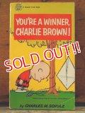 """bk-1001-17 PEANUTS / 1968 Comic """"YOU'RE WINNER,CHARLIE BROWN!"""""""