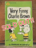 "bk-1001-25 PEANUTS / 1968 Comic ""Verry Funny,Charlie Brown"""