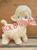 bt-131008-01 Sun Rubber / 50's Lamb Squeak Doll (White)