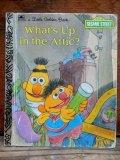 bk-130607-05 Sesame Street What's Up in the Attic? / 80's Little Golden Books