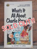 bk-131029-02 PEANUTS / 1969 What's It All About,Charlie Brown?