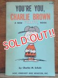 bk-131029-01 PEANUTS / 1968 YOU'RE YOU,CHARLIE BROWN