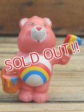 "ct-120804-08 Care Bears / Kenner 80's PVC ""Cheer Bear"""