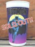 ct-131122-29 BATMAN × BATWING / 1989 Plastic Cup