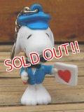 "ct-131122-89 Snoopy / Whitman's 2003 PVC Keychain ""Postman"""