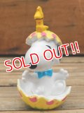 "ct-131122-84 Snoopy / Whitman's 2001 PVC ""Snoopy in Egg (Yellow)"""