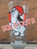 gs-131126-05 Droopy / PEPSI 1975 Collector series glass