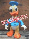ct-131202-03 Donald Duck / Ledraplastic 60's Rubber Doll (Black Button)