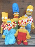 ct-131210-16 the Simpsons / Burger King 90's Plush doll set