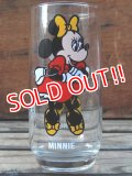gs-131211-03 Minnie Mouse / PEPSI 70's Collector series glass
