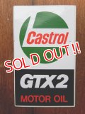 ad-1218-09 Castrol / GTX2 Motor Oil Sticker
