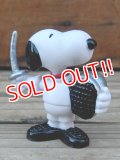 """ct-131218-04 Snoopy / Schleich 80's PVC """"Fencing"""""""