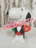 """ct-131122-75 Snoopy / Whitman's 1996 PVC """"Tuxedo"""""""