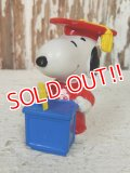 "ct-140218-20 Snoopy / Applause 90's PVC ""Grad"" (C)"