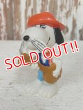 "ct-140218-16 Snoopy / Schleich 80's PVC ""Spike"""