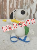 "ct-140218-09 Snoopy / Schleich 80's PVC ""Brushing"""