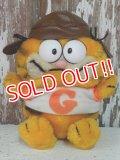 "ct-140211-73 Garfield / R.DAKIN 80's Plush Doll ""Pilot"""